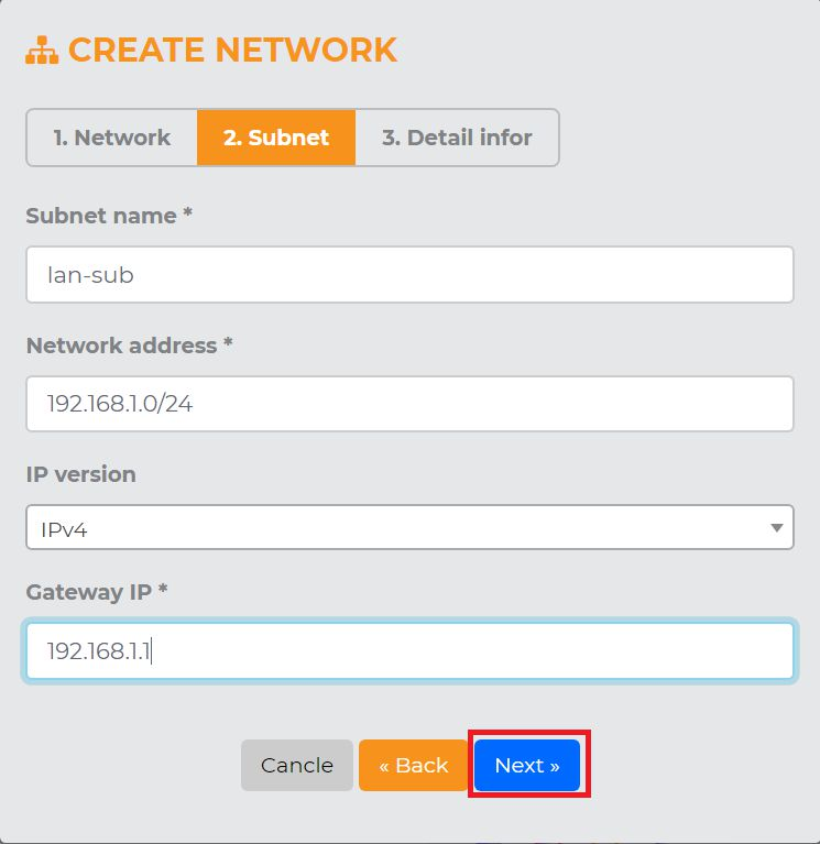 Hướng dẫn cấu hình Networks trên KDATA Cloud (4)